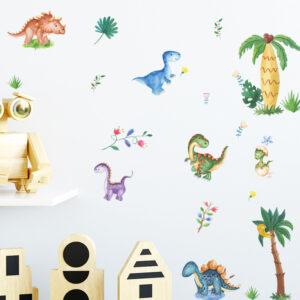 Muursticker Baby Dino's